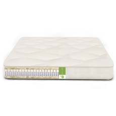 The Futon Shop Twin XL Size Organic Calm Nest Mattress - MicroCoil, Organic Latex, Organic Wool Soft