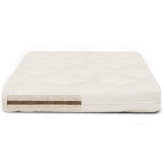 The Futon Shop Full/Double Size Vegan Cocopedic Double Sided Mattress