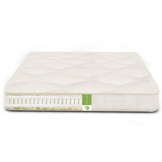 The Futon Shop Twin XL Size Vegan Serenity Nest Double Sided Mattress - Organic Cotton, Latex, PLA Firm