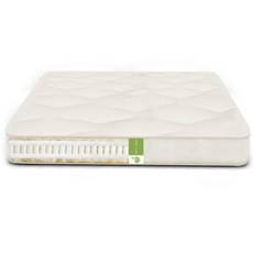 The Futon Shop Twin XL Size Organic Serenity Nest Mattress -Organic Cotton, Organic Latex, Organic Wool Soft