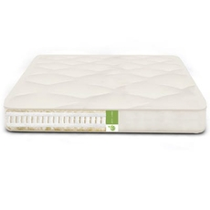 The Futon Shop Twin XL Size Vegan Serenity Nest Mattress - Organic Cotton, Latex, PLA Firm