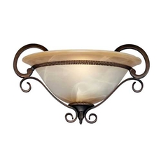 Clearance Golden Lighting Meridian 1-Light Wall Sconce OVFCR011825