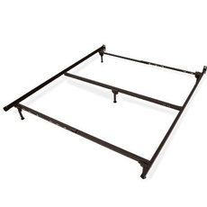 Glideaway Classic Steel Bed Fame - Cal King Size