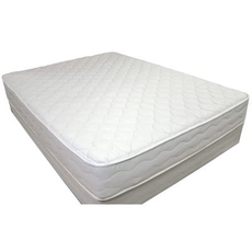 US Mattress Naturals Level 1 Firm 7 Inch Twin Mattress Only SDMB0319127 - Scratch and Dent Model ''As-Is''