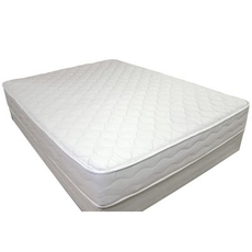 US Mattress Naturals Level 2 Luxury Firm Twin Mattress Only - All Natural, No Foam SDMB0319122- Scratch and Dent Model ''As-Is''