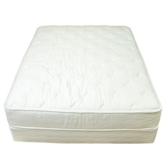 Twin US Mattress Naturals Level 4 Plush 12 Inch Mattress - All Natural, No Foam