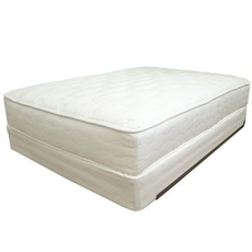 Queen US Mattress Naturals Level 6 Luxury Plush 13 Inch Mattress Only SDMB012130 - Scratch and Dent Model ''As-Is''