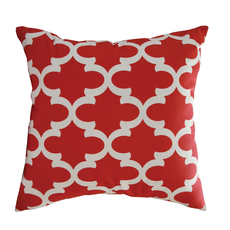 Hallmart Avi Red 18 Inch Accent Pillow Set