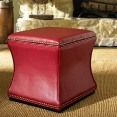 Hammary Hidden Treasures Storage Cube in Red