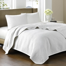 Hampton Hill Cool Cotton Polar Coverlet Set by JLA Home