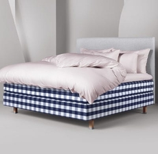 King Hastens Eala Bed at Hastens Detroit