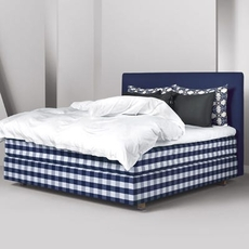 Full Hastens Herlewing Bed at Hastens Detroit