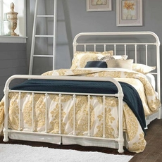 Hillsdale Furniture Kirkland King Bed in Soft White