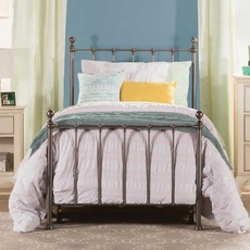 Hillsdale Furniture Molly Full Bed in Black Steel