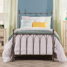 Hillsdale Furniture Molly Queen Bed in Black Steel