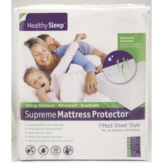 Healthy Sleep Supreme Full XL Size Mattress Protector by GBS