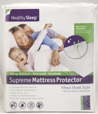Healthy Sleep Supreme Twin XL Size Mattress Protector by GBS