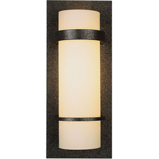 Clearance Hubbardton Forge Banded 1-Light Wall Sconce