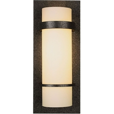 Clearance Hubbardton Forge Banded 1-Light Wall Sconce OVFCR121784