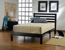 Hillsdale Furniture Aiden Twin Bed in Black