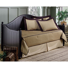Hillsdale Furniture Augusta Daybed in Black with Free Mattress