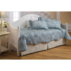 Hillsdale Furniture Augusta Daybed in White with Free Mattress