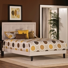 Hillsdale Furniture Becker Bed in Cream Full Size