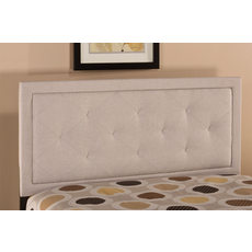 Hillsdale Furniture Becker Headboard in Cream King Size