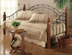 Hillsdale Furniture Camelot Daybed with Wood Posts