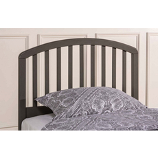 Hillsdale Furniture Carolina Headboard with Bed Frame in Stone Twin Size