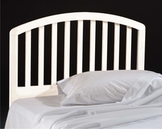 Hillsdale Furniture Carolina Headboard Twin Size in White