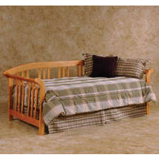Hillsdale Furniture Dorchester Daybed in Country Pine with Free Mattress