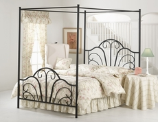 Hillsdale Furniture Dover Canopy Bed King Size