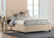 Hillsdale Furniture Duggan 6 Drawer Storage Bed King Size