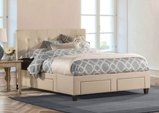 Hillsdale Furniture Duggan 6 Drawer Storage Bed Queen Size