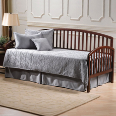 Hillsdale Furniture Carolina Daybed in Cherry with Free Polytop Frame