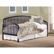 Hillsdale Furniture Carolina Daybed in Navy with Free Daybed Mattress