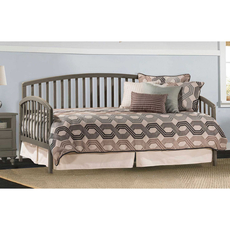 Hillsdale Furniture Carolina Daybed in Stone with Free Daybed Mattress