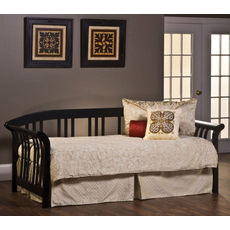 Hillsdale Furniture Dorchester Daybed in Black with Free Mattress