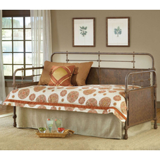 Hillsdale Furniture Kensington Daybed in Old Rust with Free Mattress