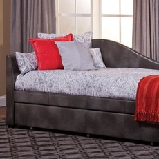 Hillsdale Furniture Winterberry Faux Leather Daybed with FREE Trundle - Closeout!