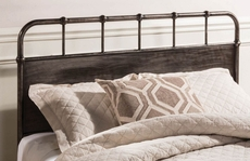 Hillsdale Furniture Grayson Headboard with Bed Frame Queen Size