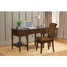 Hillsdale Furniture Gresham Desk with Chair in Cherry
