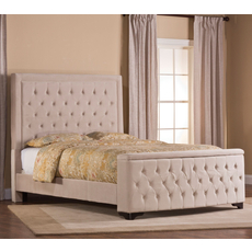 Hillsdale Furniture Kaylie Storage Bed in Buckwheat King Size