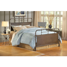 Hillsdale Furniture Kensington Bed in Old Rust King Size