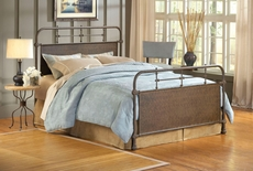 Hillsdale Furniture Kensington Bed in Old Rust Full Size