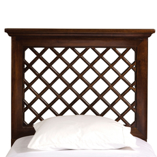 Hillsdale Furniture Kuri Headboard in Light Walnut King Size