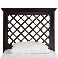 Hillsdale Furniture Kuri Headboard in Rubbed Black King Size