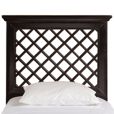Hillsdale Furniture Kuri Headboard in Rubbed Black Twin Size