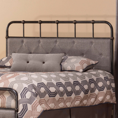 Hillsdale Furniture Langdon Headboard with Bed Frame King Size